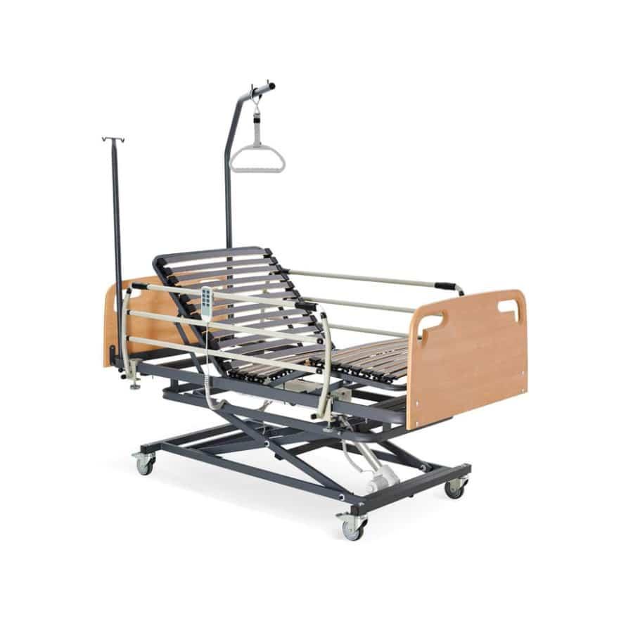 cama articulada hospitalar com elevador 1