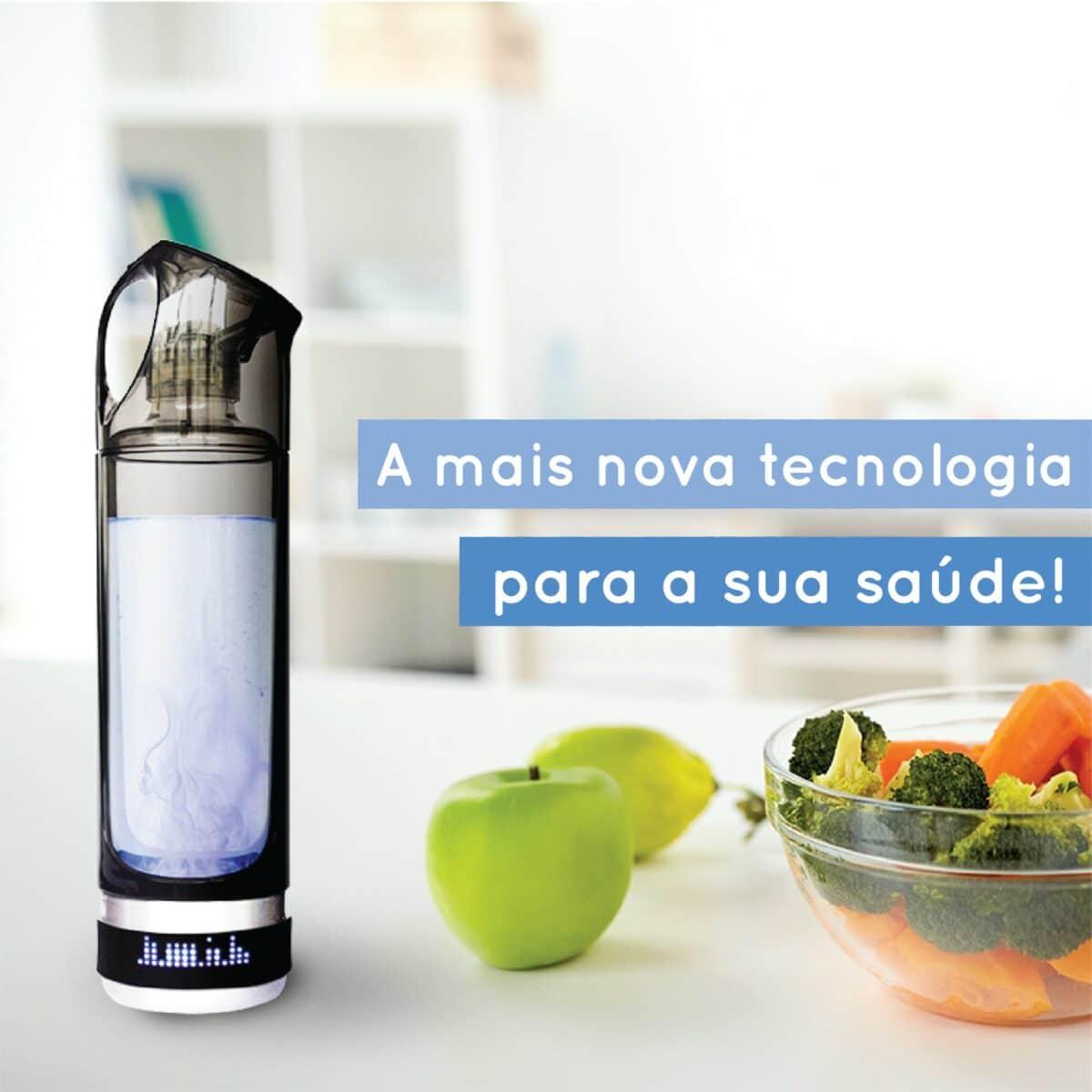 garrafa hydromagic h2 agua hidrogenada antioxidante 4
